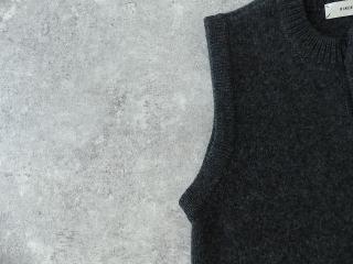 ウール天竺編みベストの商品画像23