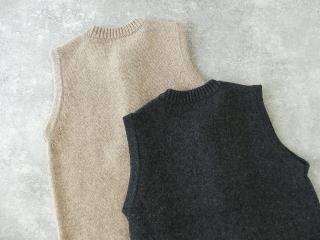 ウール天竺編みベストの商品画像27