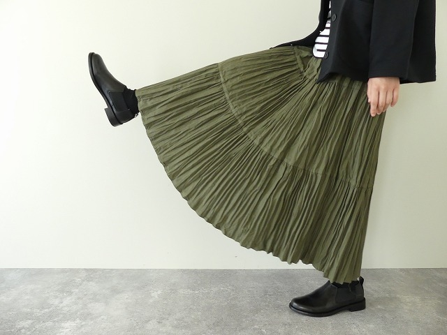 コットンフランネルティアードスカートの商品画像1