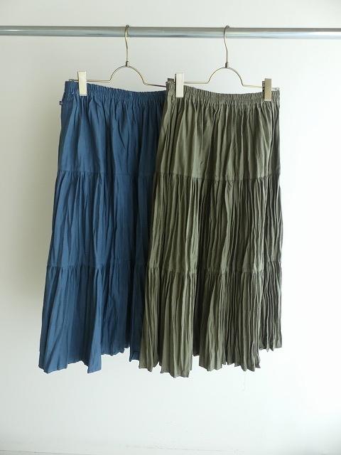 コットンフランネルティアードスカートの商品画像3