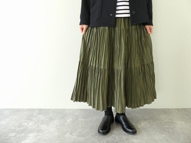 コットンフランネルティアードスカートの商品画像4