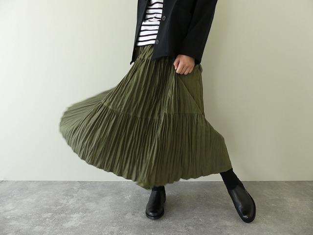 コットンフランネルティアードスカートの商品画像5