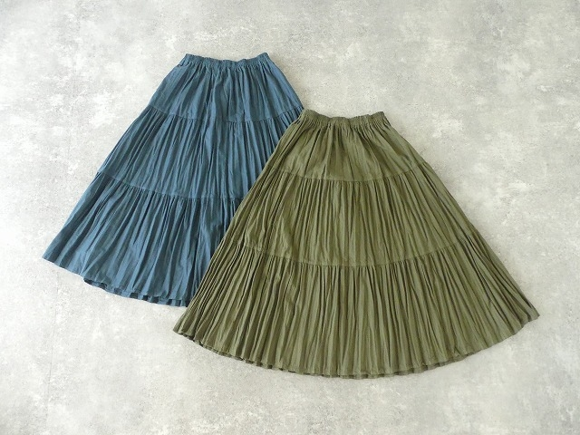 コットンフランネルティアードスカートの商品画像6