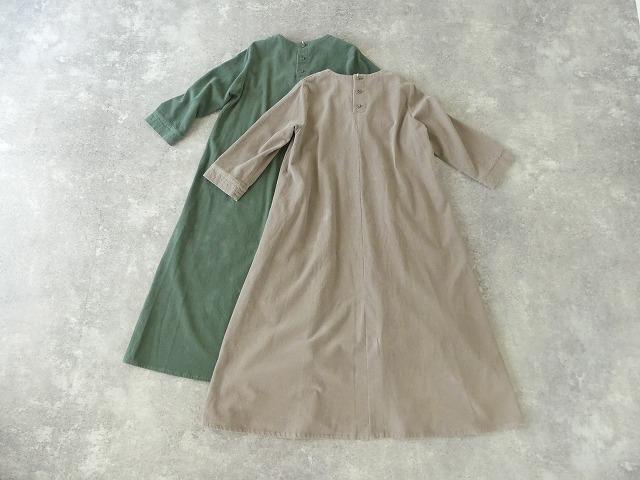コーデュロイVネックドレスの商品画像9