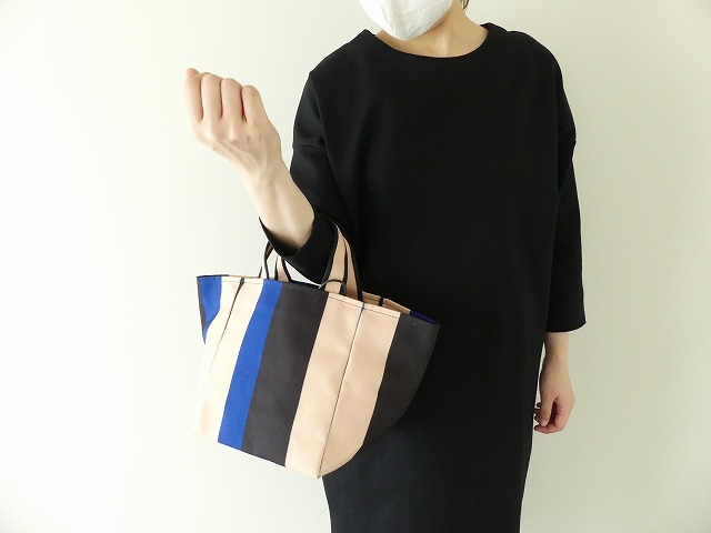 MILA ストライプトートバッグの商品画像1