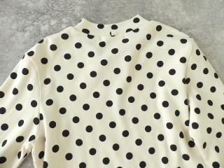 フライスドットプリントハイネック長袖Tの商品画像26
