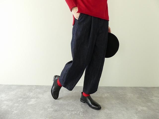 cotton denim back gom パンツの商品画像1