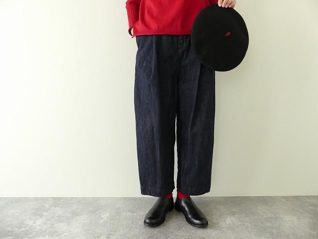 cotton denim back gom パンツの商品画像2