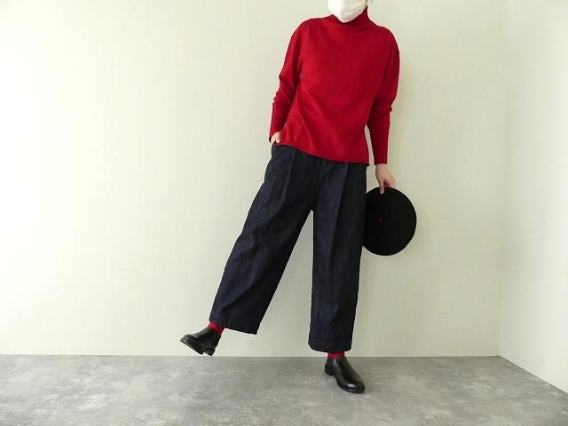 cotton denim back gom パンツの商品画像6