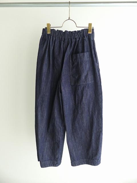 cotton denim back gom パンツの商品画像7