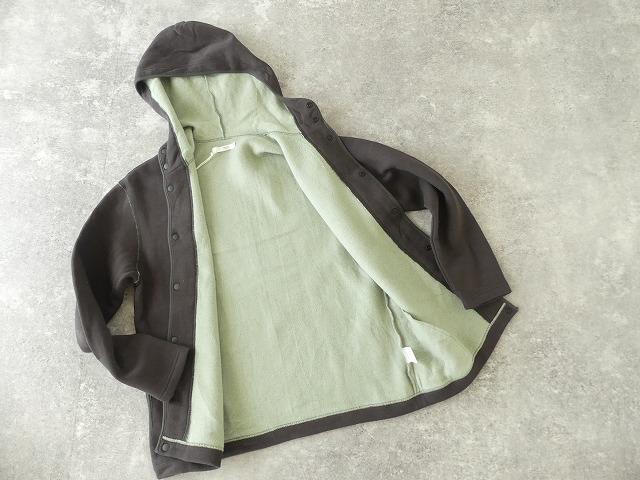 パステル裏毛フーテッドジャケットの商品画像12
