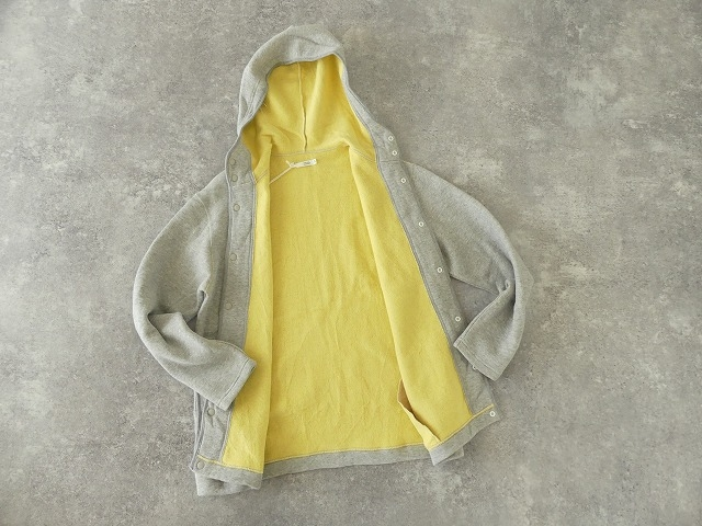 パステル裏毛フーテッドジャケットの商品画像13