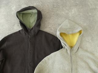 パステル裏毛フーテッドジャケットの商品画像18