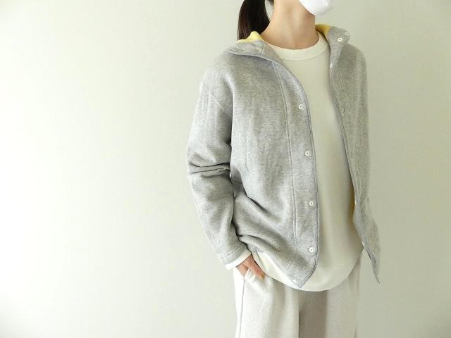 パステル裏毛フーテッドジャケットの商品画像2
