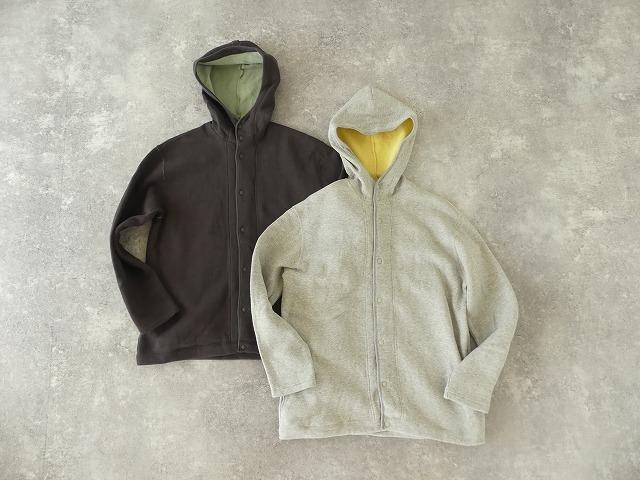 パステル裏毛フーテッドジャケットの商品画像3