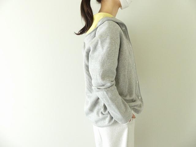パステル裏毛フーテッドジャケットの商品画像4