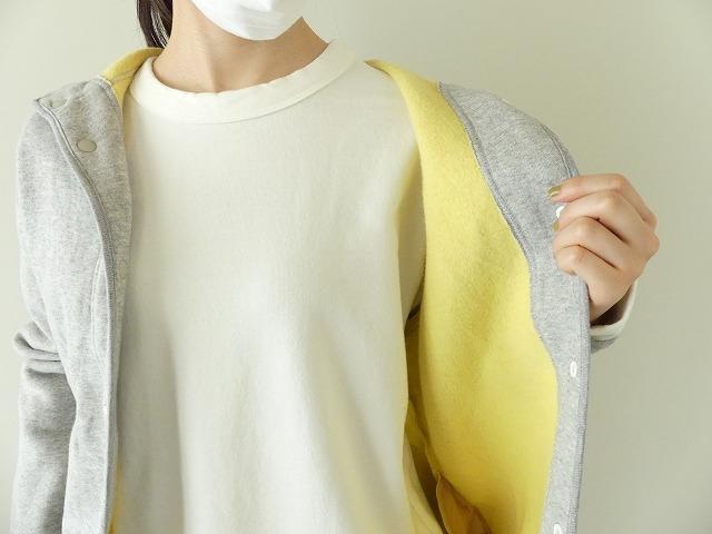 パステル裏毛フーテッドジャケットの商品画像5