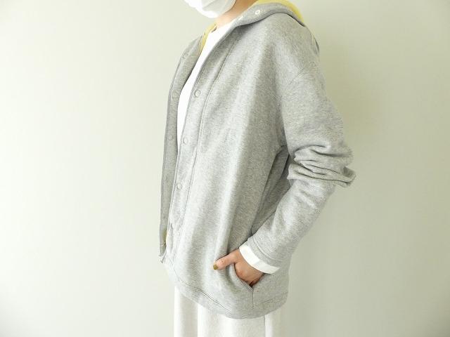 パステル裏毛フーテッドジャケットの商品画像6