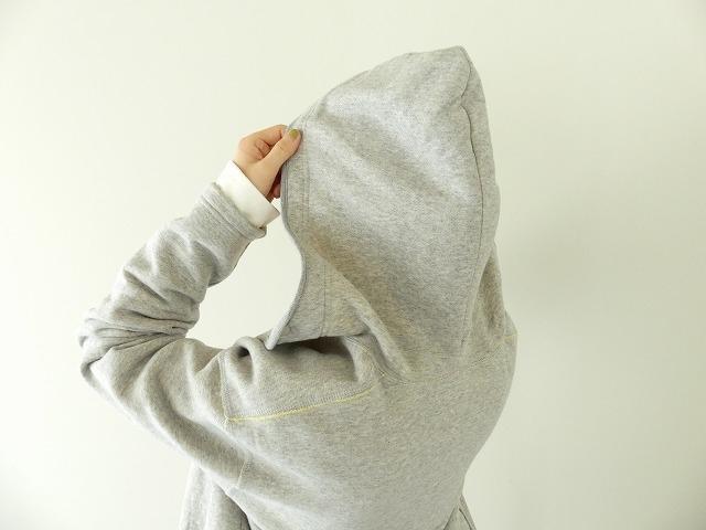 パステル裏毛フーテッドジャケットの商品画像7