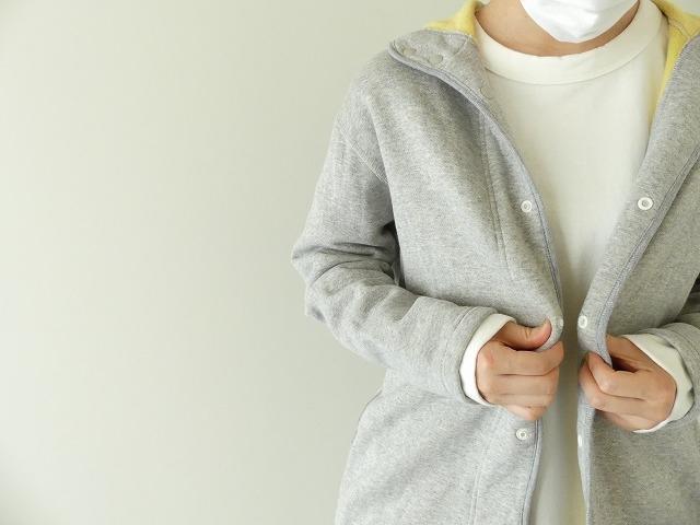 パステル裏毛フーテッドジャケットの商品画像8