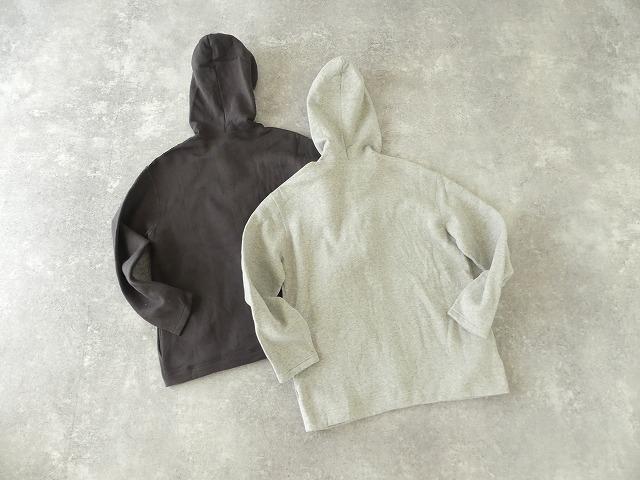 パステル裏毛フーテッドジャケットの商品画像9