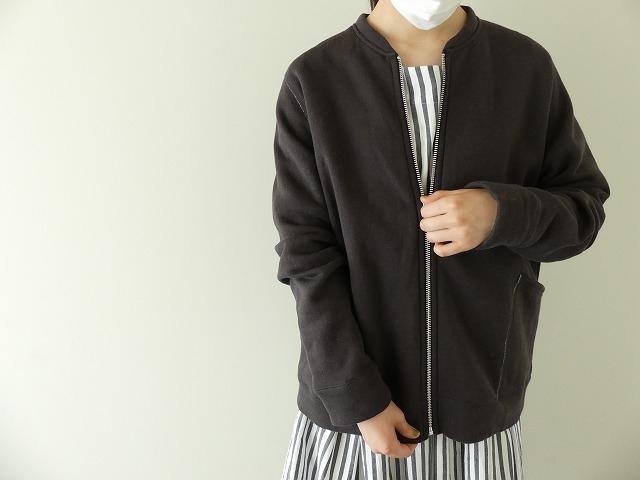 パステル裏毛ZIPカーデの商品画像7