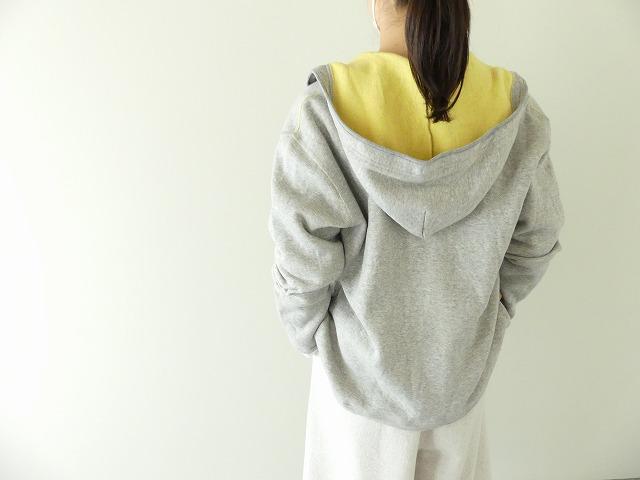 パステル裏毛フーテッドジャケットの商品画像1