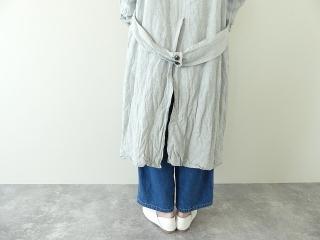 泥藍リネンコートの商品画像20