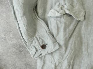 泥藍リネンコートの商品画像22