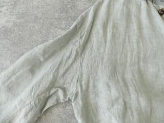 泥藍リネンコートの商品画像23