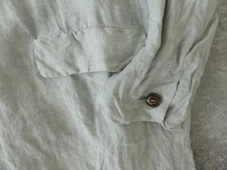 泥藍リネンコートの商品画像26
