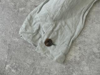 泥藍リネンコートの商品画像28