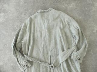 泥藍リネンコートの商品画像29