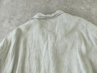 泥藍リネンコートの商品画像30