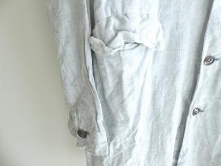泥藍リネンコートの商品画像33
