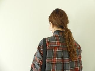 フランネルロングシャツワンピースの商品画像15