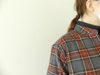 フランネルロングシャツワンピースの商品画像18