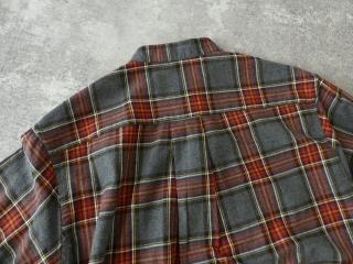 フランネルロングシャツワンピースの商品画像24
