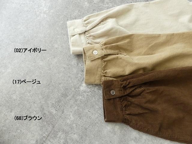 コーデュロイバンドカラーシャツワンピースの商品画像10