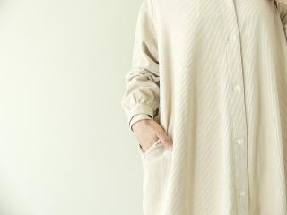 コーデュロイバンドカラーシャツワンピースの商品画像16