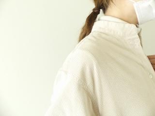 コーデュロイバンドカラーシャツワンピースの商品画像19