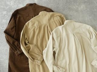 コーデュロイバンドカラーシャツワンピースの商品画像21
