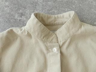 コーデュロイバンドカラーシャツワンピースの商品画像23