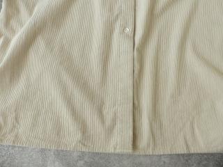 コーデュロイバンドカラーシャツワンピースの商品画像25