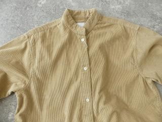 コーデュロイバンドカラーシャツワンピースの商品画像26