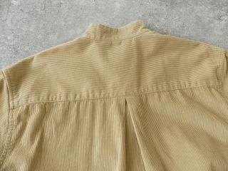 コーデュロイバンドカラーシャツワンピースの商品画像27