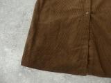 コーデュロイバンドカラーシャツワンピースの商品画像32