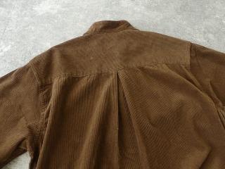 コーデュロイバンドカラーシャツワンピースの商品画像33