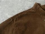 コーデュロイバンドカラーシャツワンピースの商品画像34