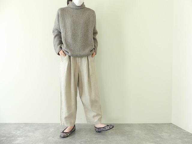alpaca wool turtleneckの商品画像1